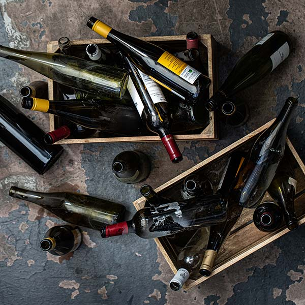 collecte-recyclage-upcycling-bouteille-de-vin