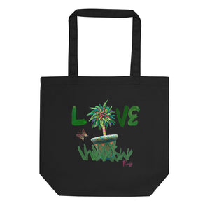 Randy LOVE Flower Eco Tote Bag