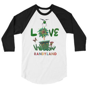 Randyland LOVE 3/4 Sleeve Raglan Shirt