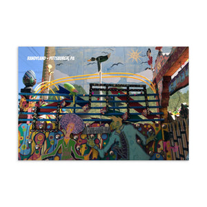 Randyland Live Love Laugh Play Postcard