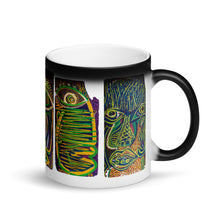 Load image into Gallery viewer, Thinkerers Matte Black Magic Mug