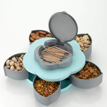 Load image into Gallery viewer, Rotating Dry fruit Serving Tray ( Multi Colour )