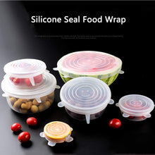 Load image into Gallery viewer, 6 PCS Silicone Stretch Lids