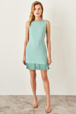 Mint Pilise dress
