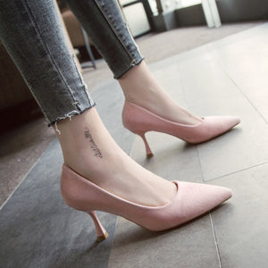 Simple Small Fresh High Heels