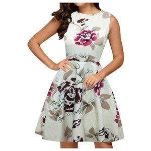 Women Dress Summer Vintage Dress Women Fashion