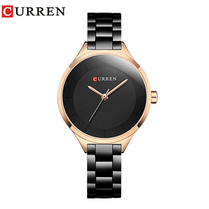Rose Gold  Stainless Steel Ladies  Watch