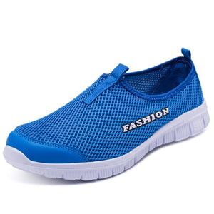 Women's  Breathable Mesh Light Flat Sneaker