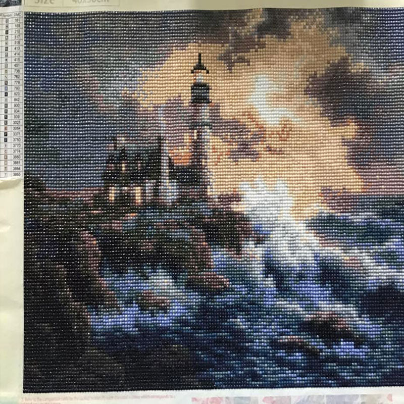 diamond painting phare