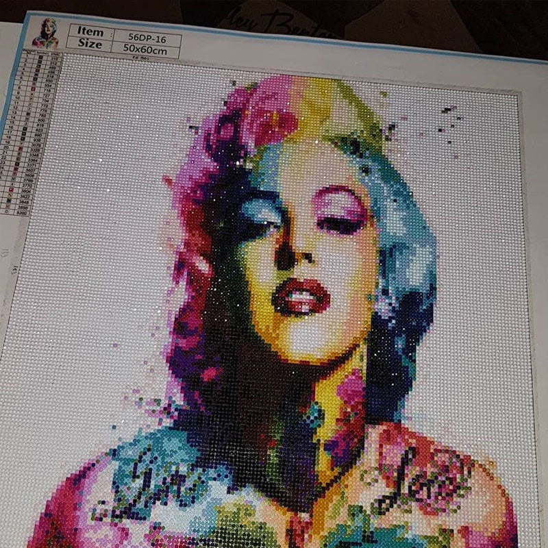 diamond painting marylin monroe