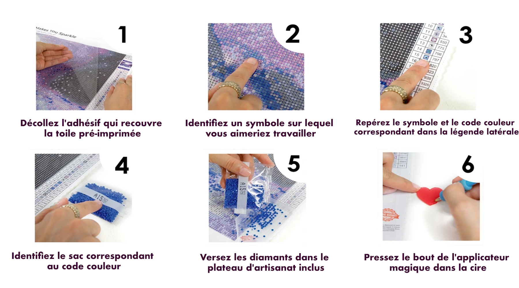 comment faire diamond painting