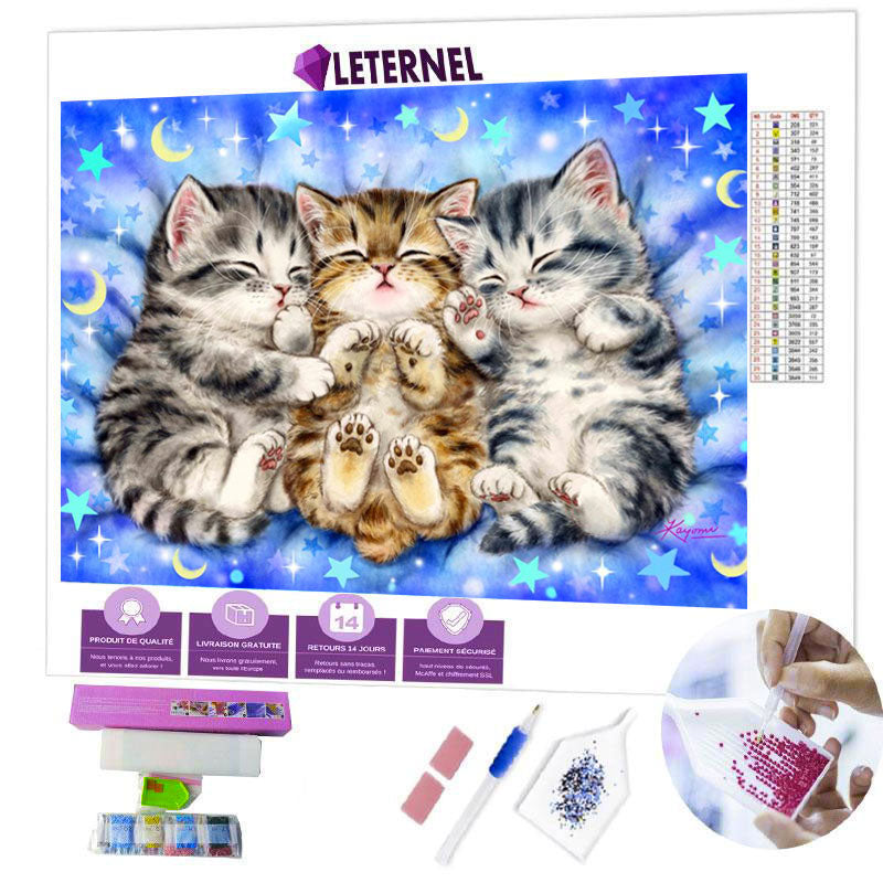 diamond painting chatons lune