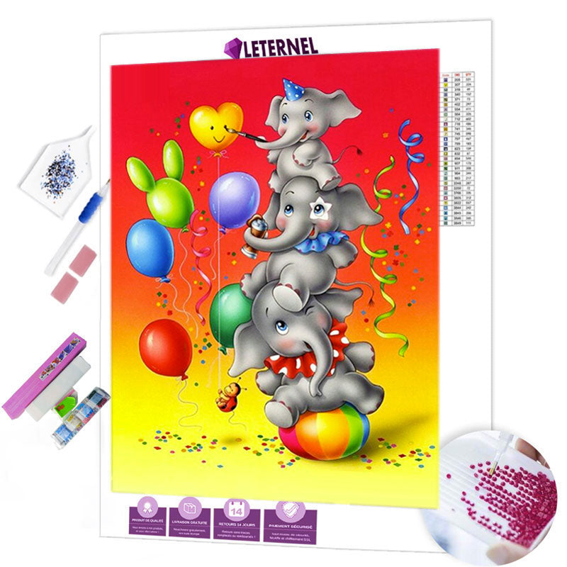 diamond painting babar