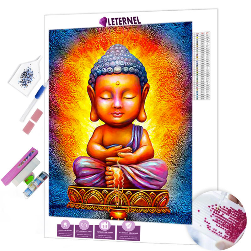 diamond painting mini bouddha