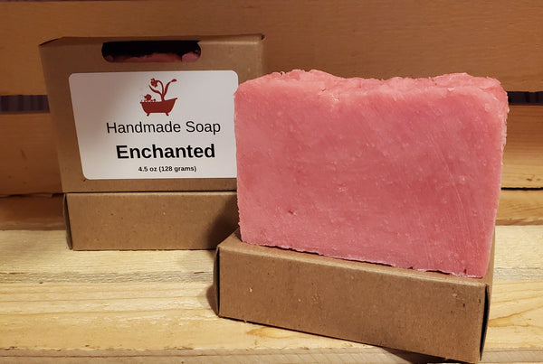 Enchanted Scented Soap - Daffodil Gems Soaps
