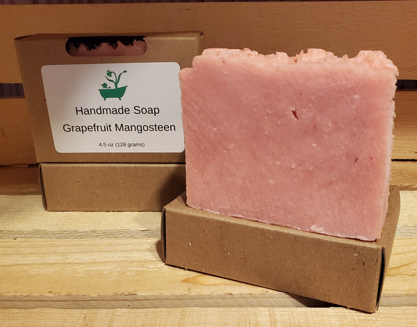Grapefruit Mangosteen Scented Soap - Daffodil Gems Soaps