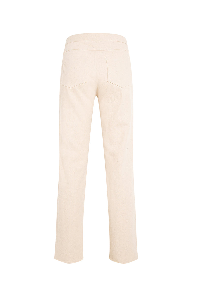 ZEA - Beaded straight leg jeans