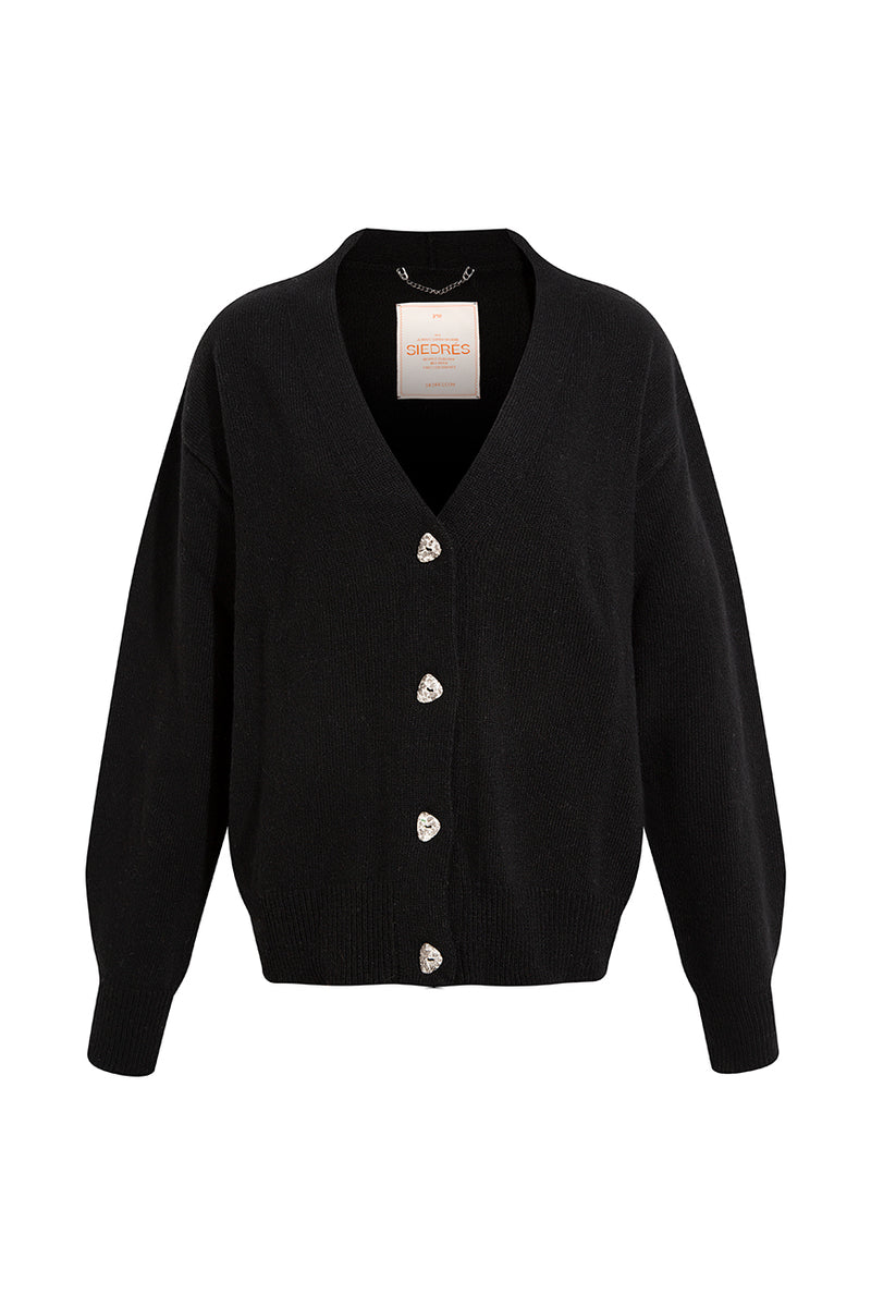 BRUNE - Black cardigan