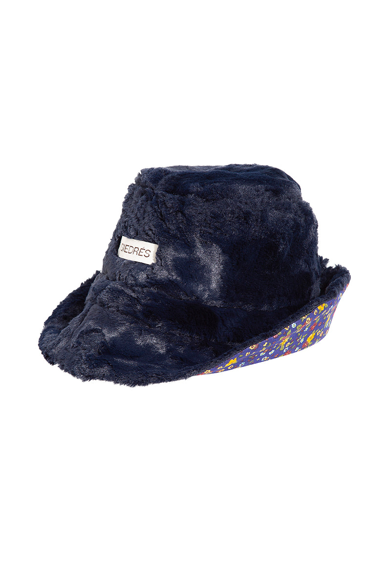 GINA - Faux fur bucket hat