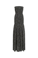 MICK - Strapless elasticated maxi dress