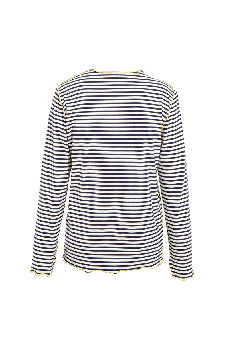 RIE - Striped long sleeve t-shirt
