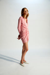MEIS - Rib-knitted silk blend mini dress