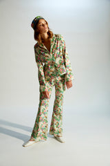 TERA - Flower printed suit jacket