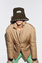 GINA - Shearling bucket hat