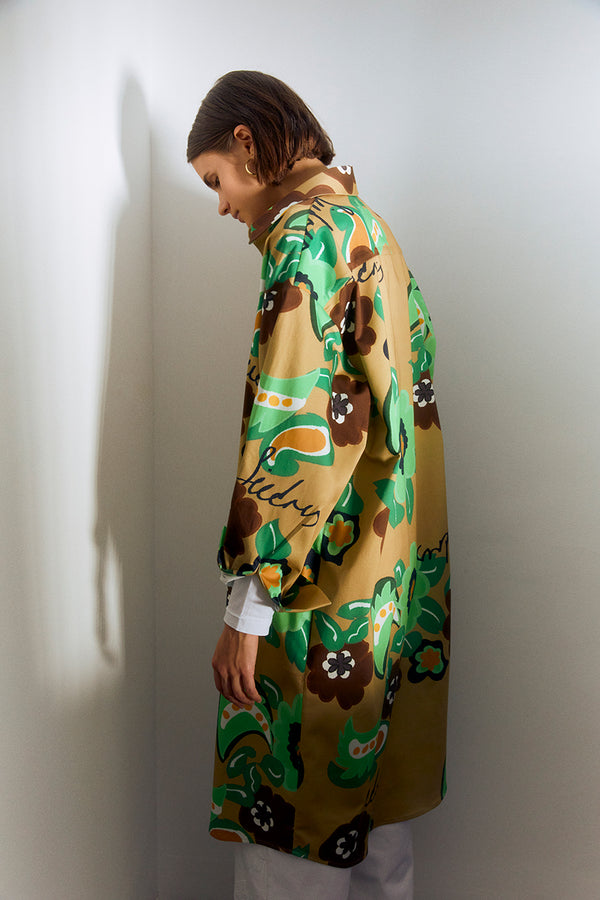 GABRIEL - Printed long jacket