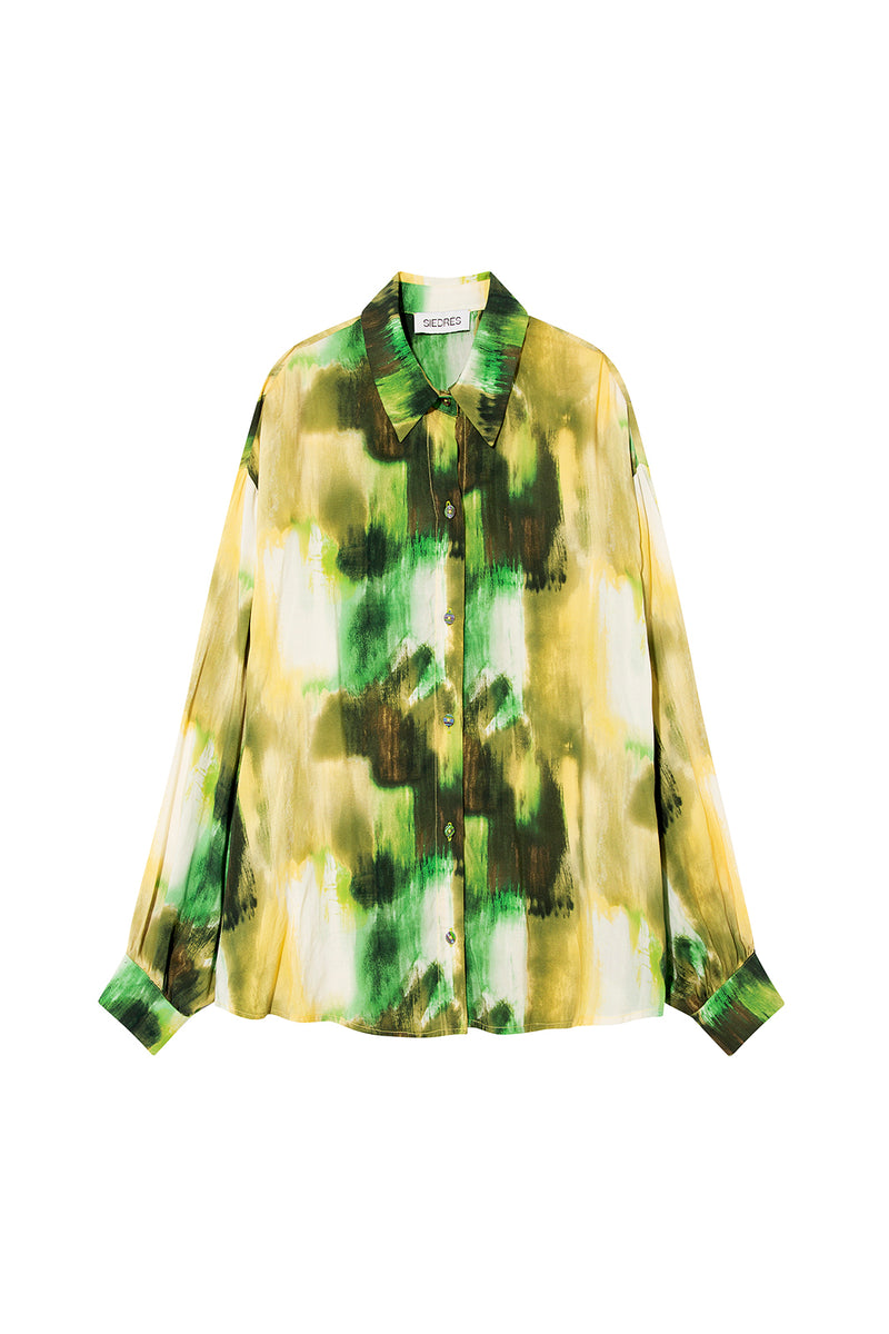 SENIA - Printed loose shirt