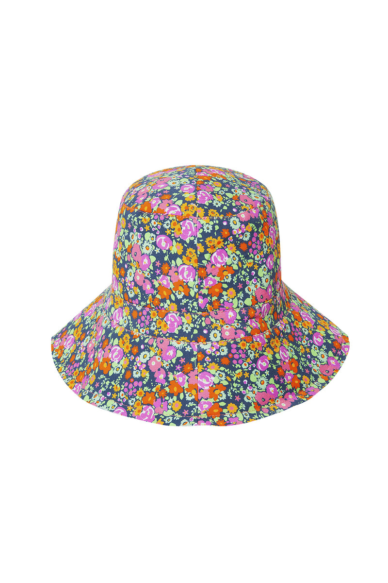 MERCI - Mini flower printed bucket hat