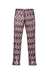 PALS - Front slit sequined pants