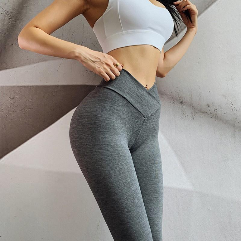Women Training Leggings Quality High Waist Push Up - Shop Women's T-shirts, blouses, Leggings & Trousers online - Luwos