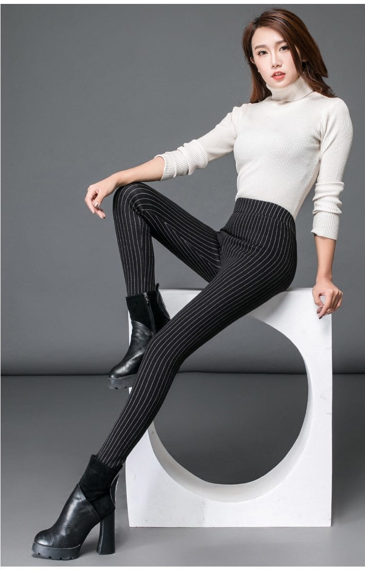 Luwos: Winter Warm Leggings Women High Waist - Shop Women's T-shirts, blouses, Leggings & Trousers online - Luwos