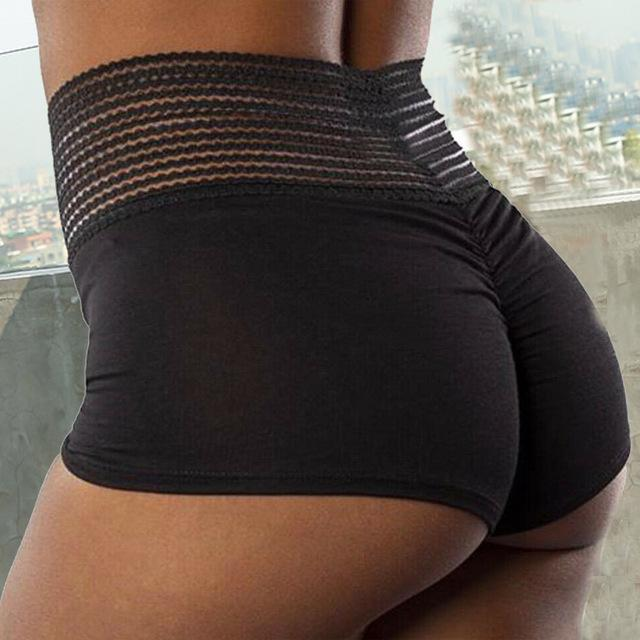 Women Sport Fitness Workout Leggings High Waist Short - Shop Women's T-shirts, blouses, Leggings & Trousers online - Luwos