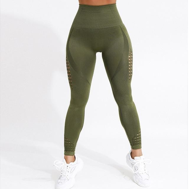 Luwos: Seamless High Waist Yoga Leggings - Shop Women's T-shirts, blouses, Leggings & Trousers online - Luwos