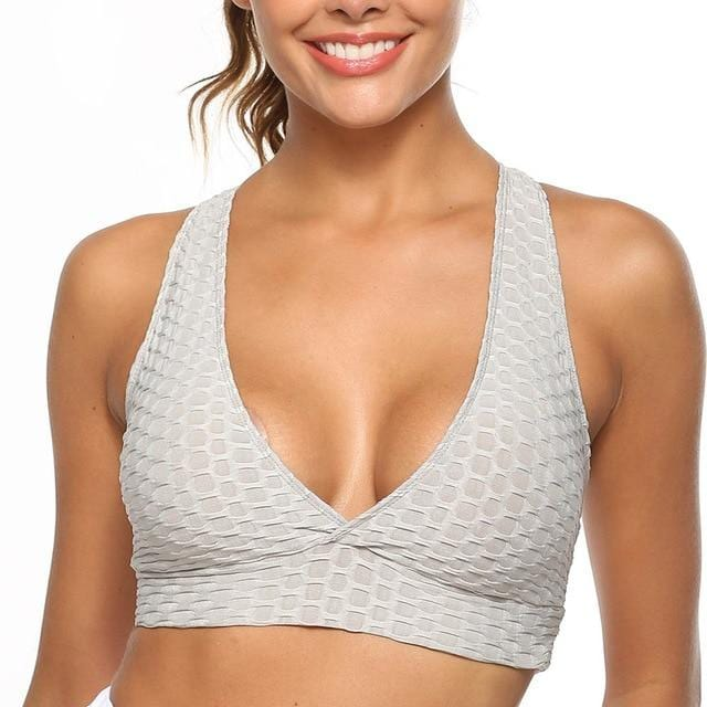 Sport's Bra Top for Fitness Clothing Push Up Workout Bra - Shop Women's T-shirts, blouses, Leggings & Trousers online - Luwos
