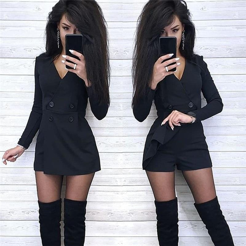 Luwos: Jumpsuit For Women Party Club Overalls Sexy - Shop Women's T-shirts, blouses, Leggings & Trousers online - Luwos