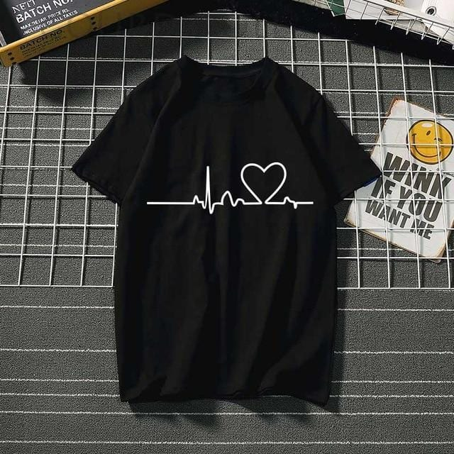 Women's t-shirt  love - Shop Women's T-shirts, blouses, Leggings & Trousers online - Luwos