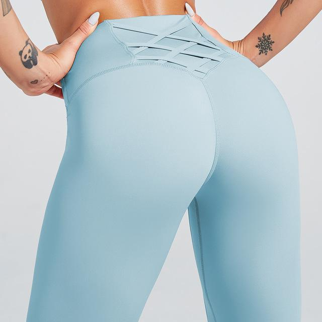 Push Up  For Women  Pants Gym Leggings High Waist Sports - Shop Women's T-shirts, blouses, Leggings & Trousers online - Luwos