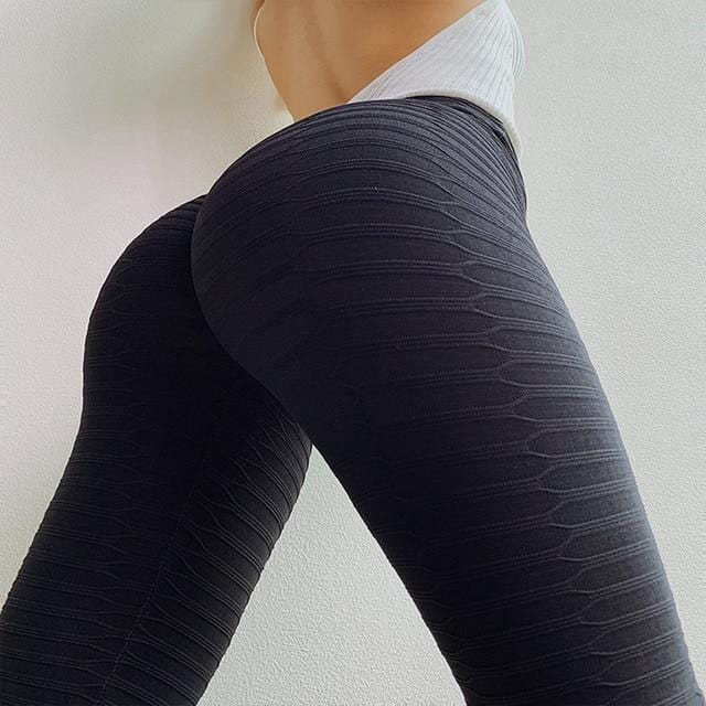 High Waist Fitness Leggings Women Workout Push Up - Shop Women's T-shirts, blouses, Leggings & Trousers online - Luwos
