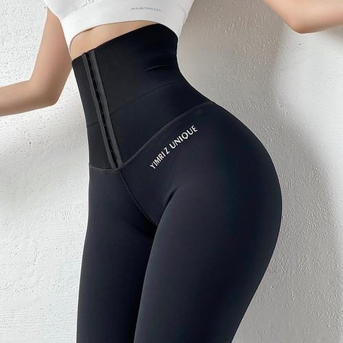 Yoga Pants Stretchy Sport Leggings High Waist Compression Tights - Shop Women's T-shirts, blouses, Leggings & Trousers online - Luwos
