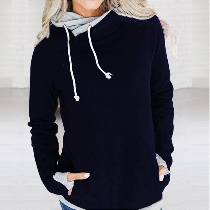Women's Solid Hoodies Sweatshirt Ladies - Shop Women's T-shirts, blouses, Leggings & Trousers online - Luwos