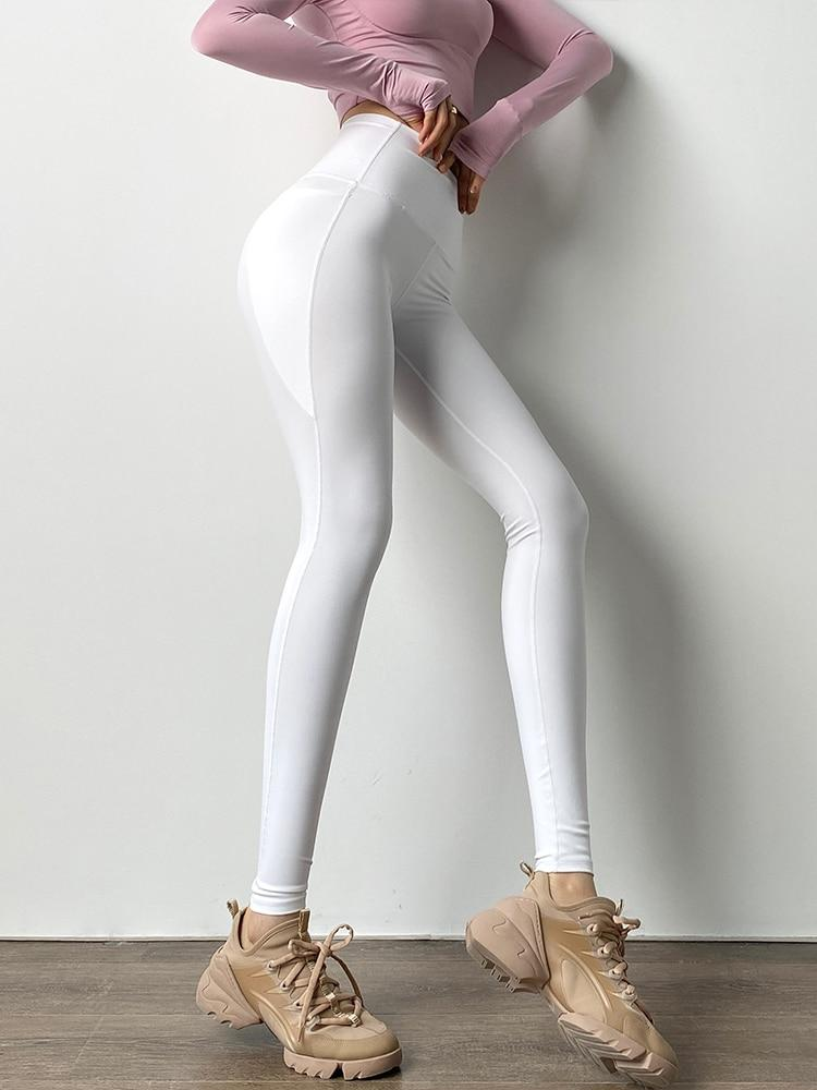 Bandage Running Leggings - Shop Women's T-shirts, blouses, Leggings & Trousers online - Luwos