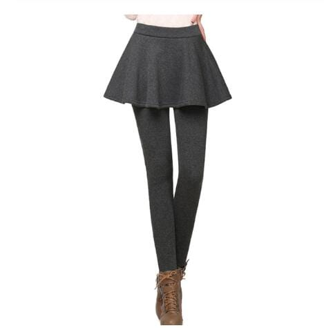 Luwos: Skirt Leggings For Women Skirt Skinny Pencil Pants - Shop Women's T-shirts, blouses, Leggings & Trousers online - Luwos