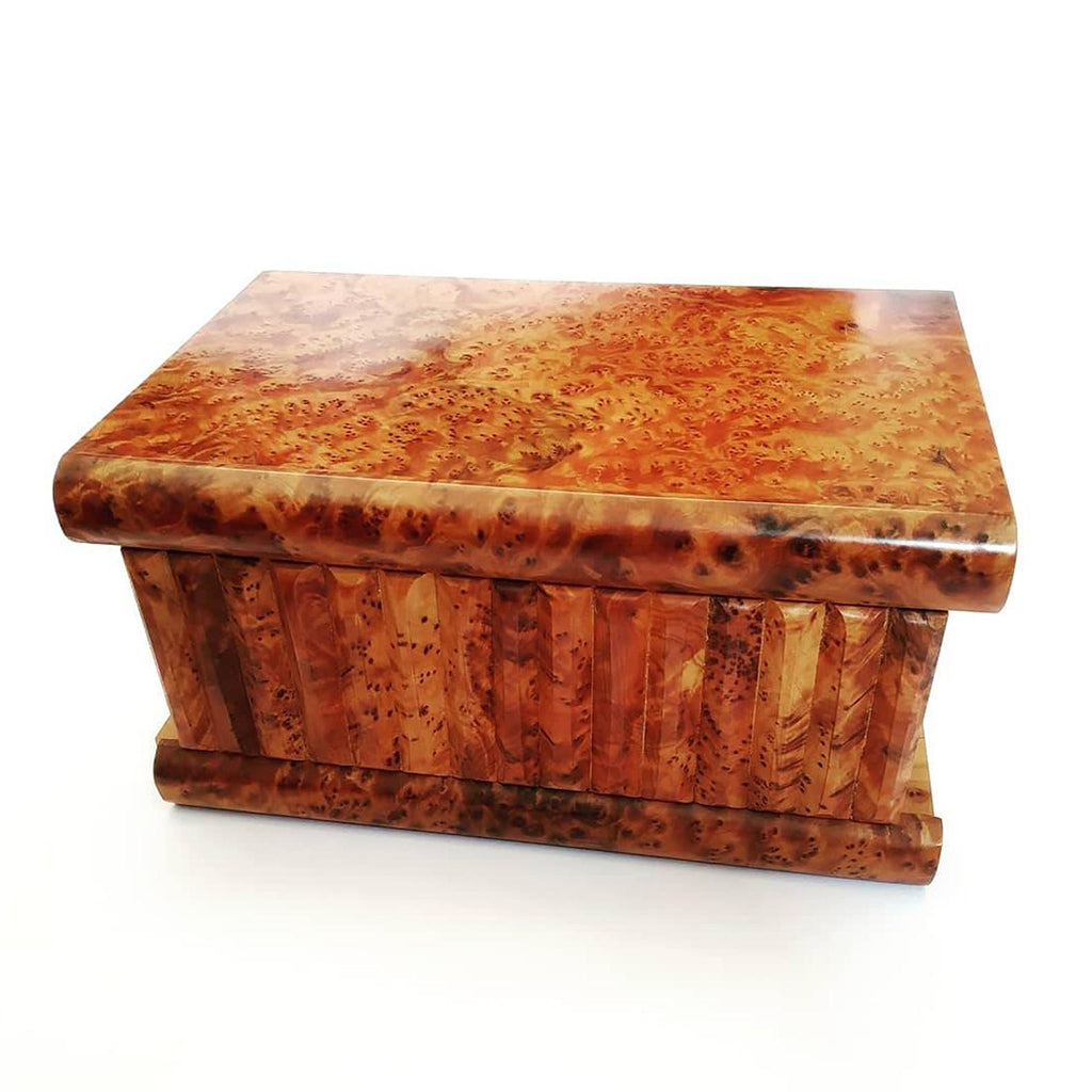 Moroccan Thuya Wooden Jewelry Secret Box - Moroccan Interior