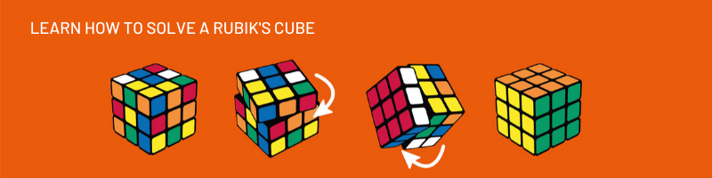 learn how to solve a rubik's cube