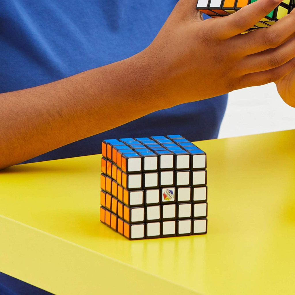 Kid solved 1 Rubik's 5x5 or Rubik's Professor