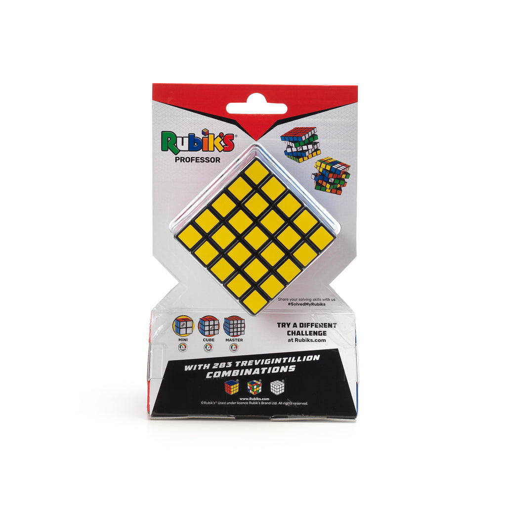 Rubik's 5x5 or Rubik's Professor with yellow front