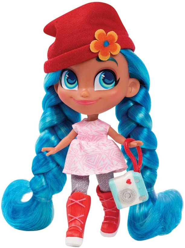 hairdorables series 2 dolls blue haired cute doll